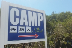 Camp Sunset board